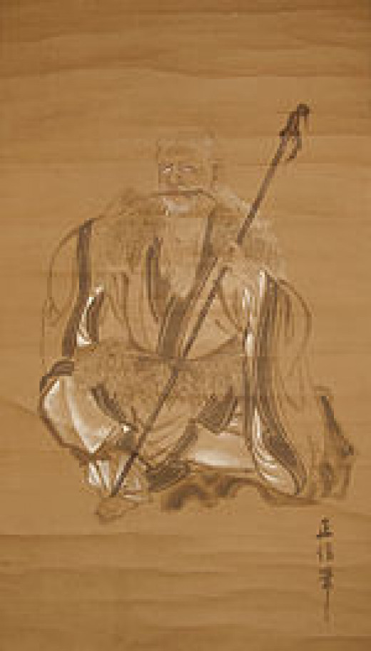 Chinese legend credits Shinno (Shennong) with the discovery of tea.