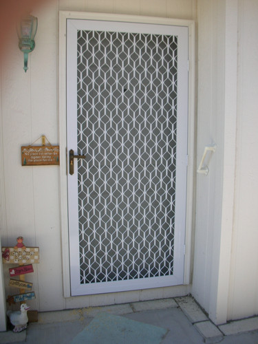 Aluminum Mesh Security Screen Door