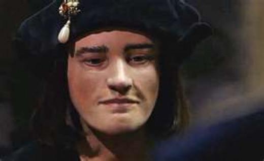 Richard's face, facial resconstruction