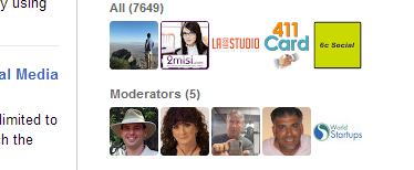 Google Plus Community Moderators