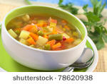 Pisces Love soup especially with seafood