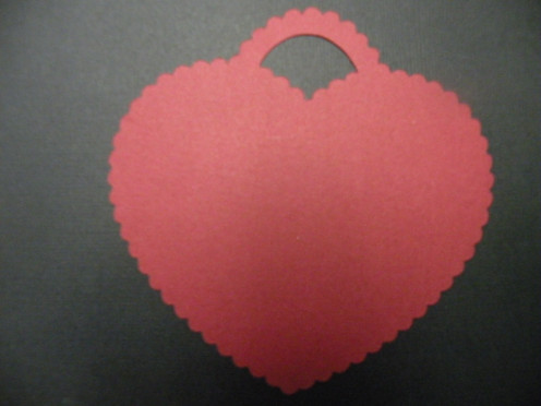 "Red ""Lock"" Heart"