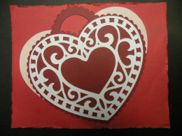 Intricate Heart Adhered