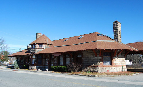 Local Train Depot, Register of Historic Places
