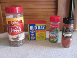various flavorings to add to your boiled peanuts