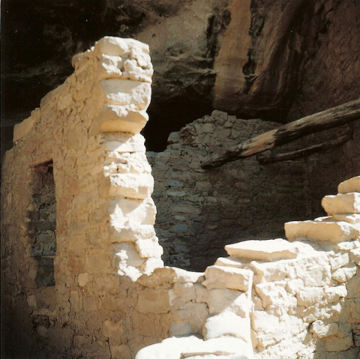 Doug Geisler (Old Sarge) photographed the Mesa Verde - Spruce House in Farmington, New Mexico on November 27, 2005.