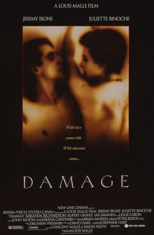 Damage Movie Poster