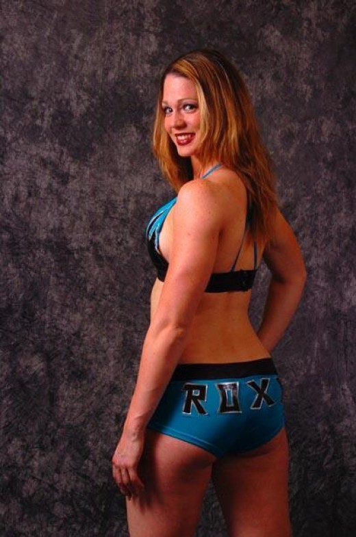 Indy Wrestler and TNA Knockout, Roxxi Laveaux