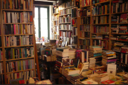 Bookstores, libraries and writers' centres can be very inspiring.