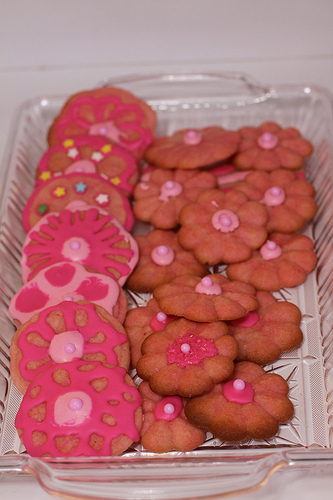 Pretty Princess Valentine Cookies