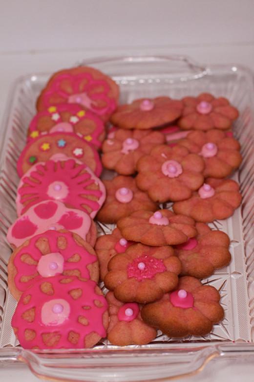 Pretty Princess Valentine Cookies
