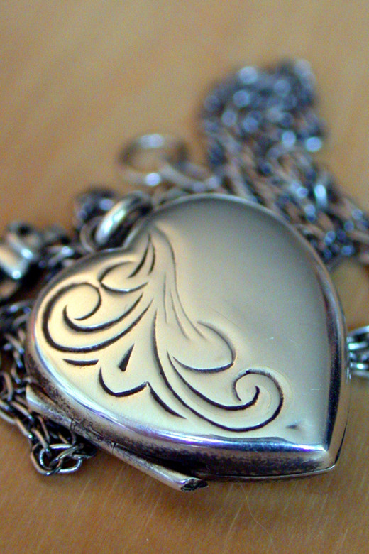 Ancient Silver Locket