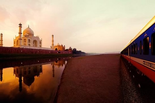 Maharajas' Express is one of the latest and most luxurious trains in the world offering 5 signature journeys across destinations in India