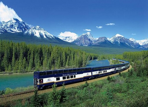 Rocky Mountaineer offers 45 plus Western Canadian tour packages that operates trains on four scenic train routes through British Columbia