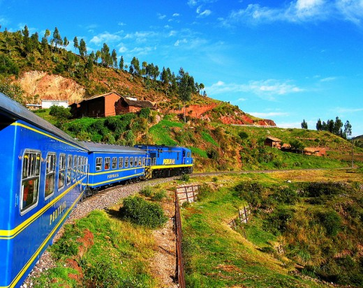 From the stable of the Orient Express, Hiram Bingham named after the famous explorer offers scenic ride from Cuzco to Machu Pichhu, a stunning historical and world heritage site.
