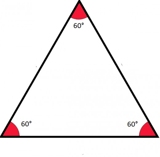 An equilateral triange has 3 equal sides