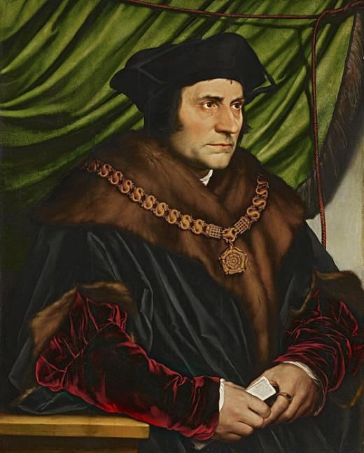 Portrait of Sir Thomas More