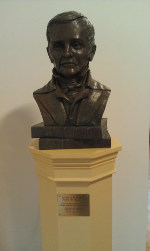 Bust of David Caldwell by Michiel Van der Sommen