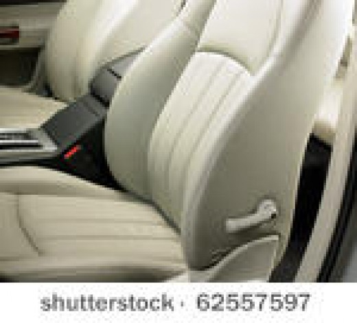 Clean the car upholstery