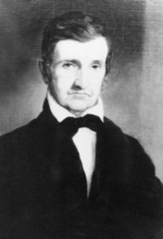 Portrait of David Caldwell by Lottie P Leonard.