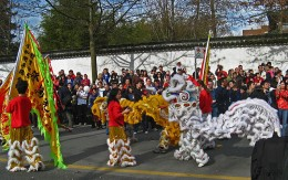 Chinese New Year Celebration in Vancouver, BC