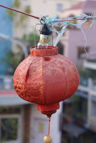 Red Chinese Lanterns are an important part of Lunar Celebrations