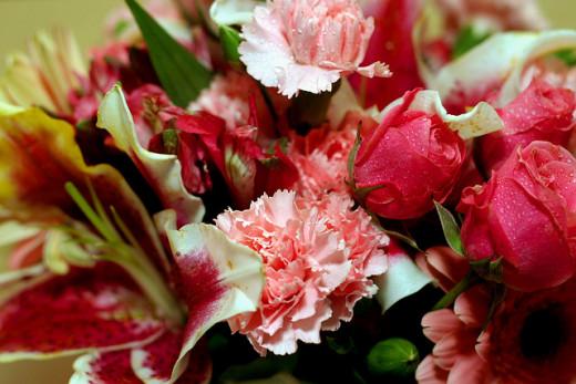 Valentine Wedding Flowers