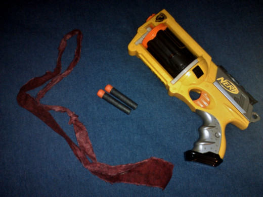 This six-shot Nerf gun is a popular choice for HvZ players.