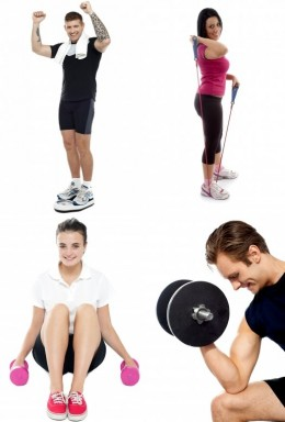 Exercise your way to a healthy body and a happy mind.