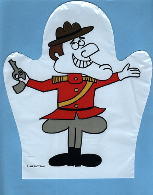 Dudley Do-Right was the eponymous hero of a segment on The Rocky and