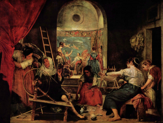 The Fable of Arachne, by Diego Velázquez