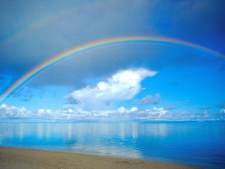 Magic of the Rainbow ~haiku~