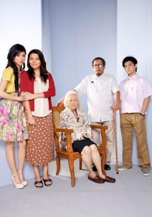 Kim Choi, Mylene Dizon, Anita Linda, Spanky Manikan and Jiro Manio