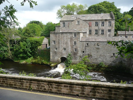 A watermill that powered Yorkshire's industry in the Industrial Age.