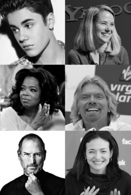 Don't have the time to read a full-fledged autobiography? Look up any of these famous people online and read their life stories to get inspired.