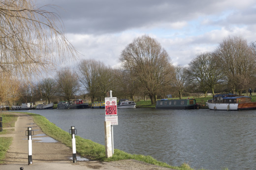 Start of the Tow Path