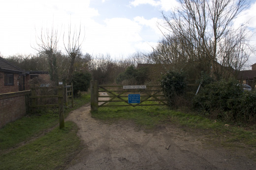 Entrance to Milton Country Park