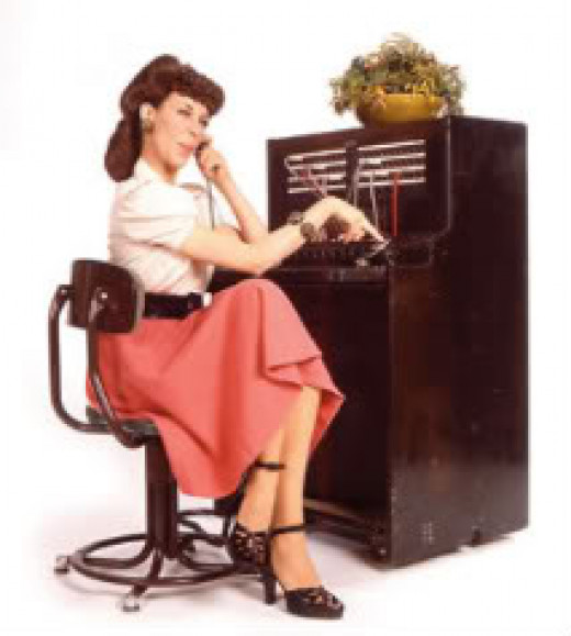 Remember Lily Tomlin When She did The Operator