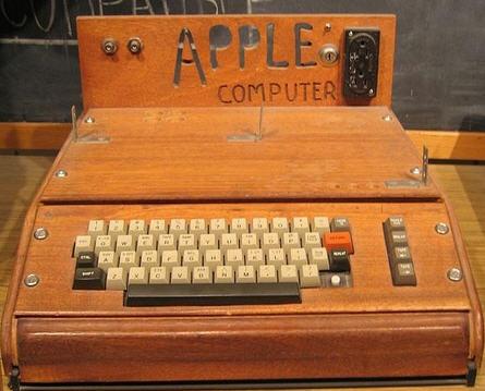 The Apple prototype computer
