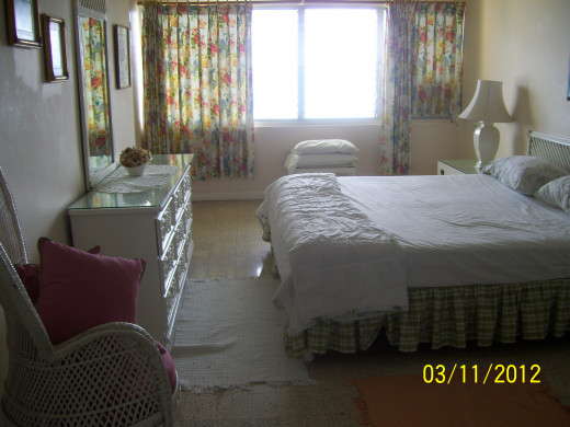 Bedroom of Ocho Rios Condo rental.