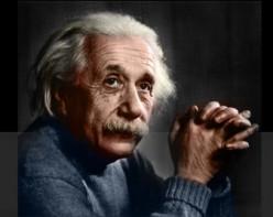 Do you believe Einstein's view of the world ?