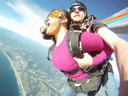 Did not know skydiving was SOOOO FUN!  This is a total visceral rush, man! LOVING IT!