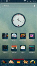 "Bazooka Launcher, with ""denim"" theme"