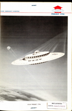 USAF Flying Saucer - 1970s. Yes, the USAF built plans to create a Flying Saucer, and they are extremely detailed.