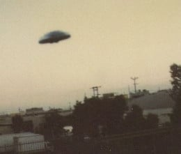 Classic UFO Photo: Actual Flying Saucer?
