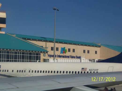 Reina Beatrix International Airport in Aruba