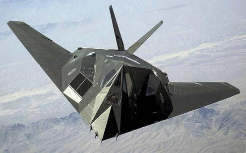 Mistaken as a UFO: The Stealth Fighter was also in use for many years before being revealed to the public.