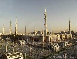Masjid Nabawi at Medina