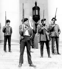 The Black Panther Party launched the modern gun rights movement, in an ironic twist of history. Inspired by the teaching of Malcom X, the Black Panthers advocated gun rights as a means of self defense...