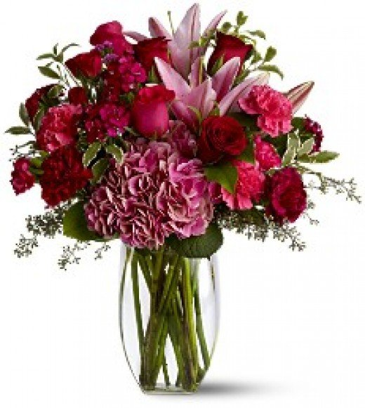 For great flower delivery this Valentines day visit Teleflora for